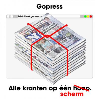 Gopress: digitale kranten en tijdschriften en het krantenarchief